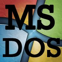 Utilisation de base du système MS-DOS