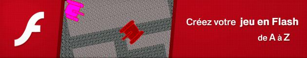 Créez votre propre jeu vidéo en Flash
