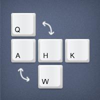 Changer les touches du clavier
